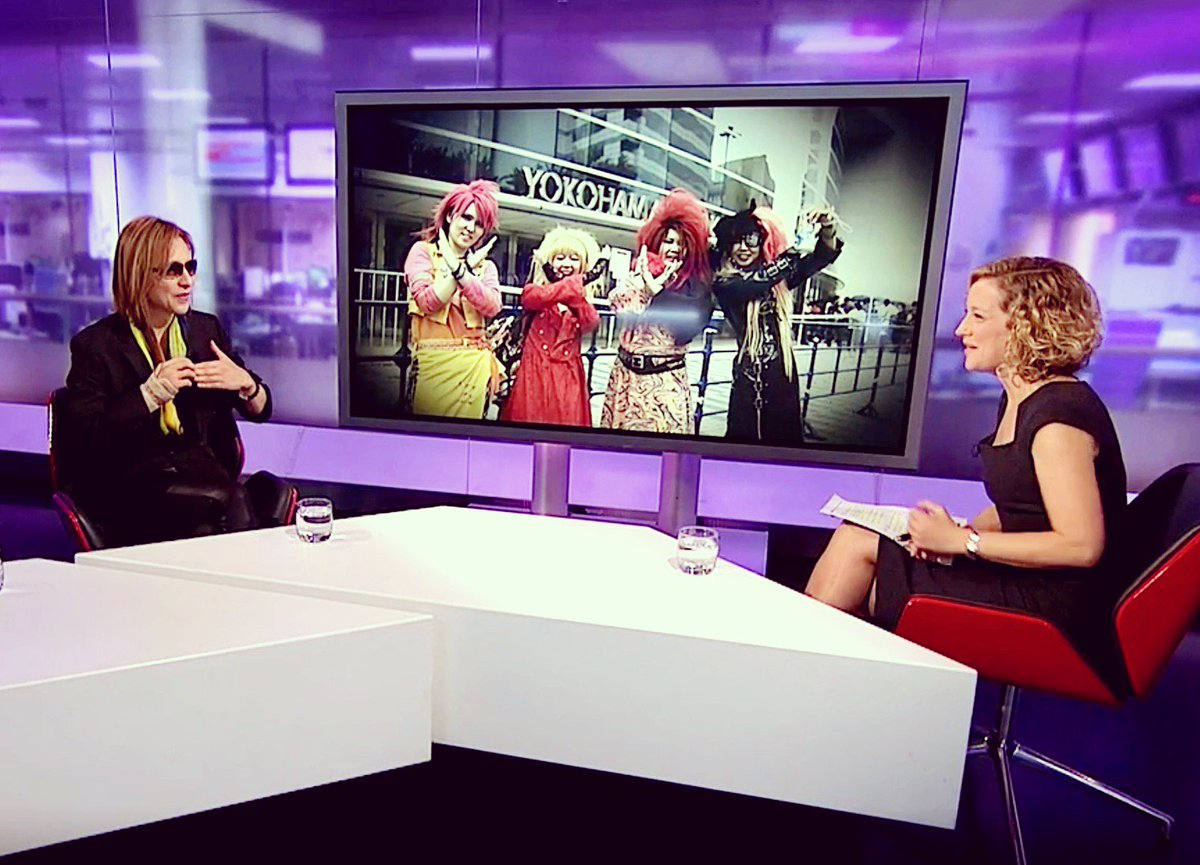 #XJAPAN&#39;ll be in #LONDON next week! #Wembley #WeAreX @Channel4News @cathynewman @WeAreXFilm   https://www. channel4.com/news/yoshiki-h ayashi-big-in-japan-again &nbsp; … <br>http://pic.twitter.com/Ml1oCGQ0XP