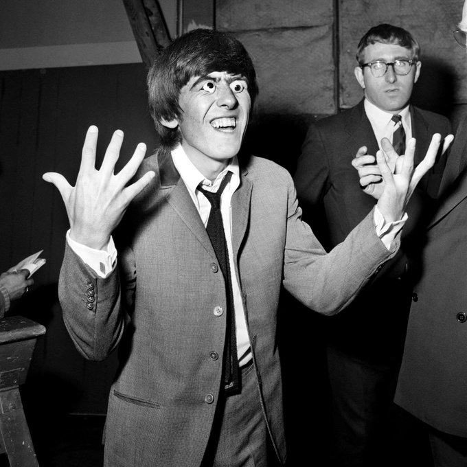 Happy birthday to the one and only George Harrison!
