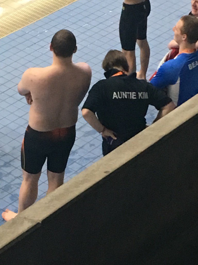 """""""Auntie Kim"""". Love it. As seen at the RLSS #Speeds17 Championships in #Sheffield"""