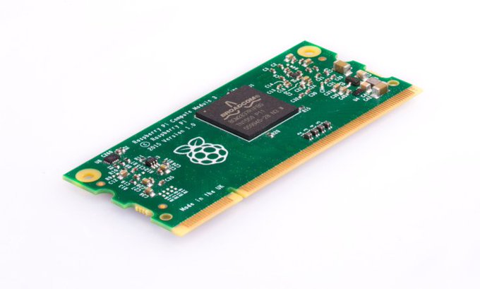 Raspberry Pi beefs up its Compute Module for industrial users
