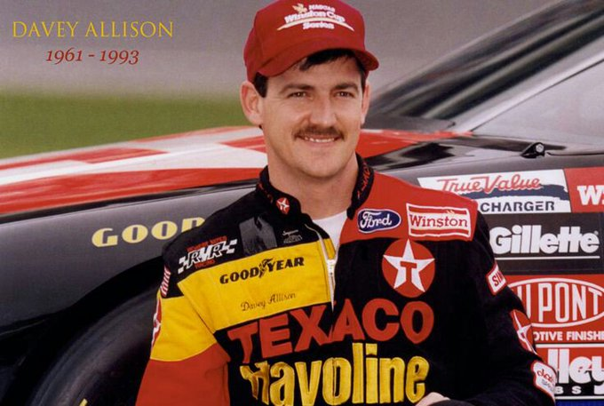 Happy birthday, Davey Allison...the racer would have been 56 today!