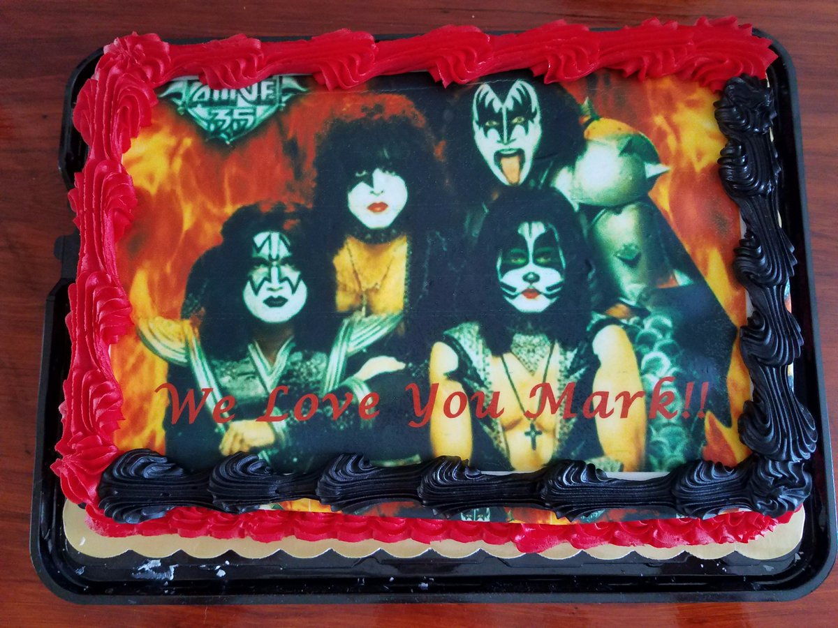 Brilliant Kiss On Twitter Kissarmyrocks Thanks To Mark Couey For Sharing Funny Birthday Cards Online Overcheapnameinfo