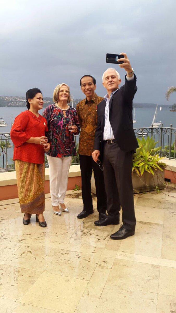 Image result for Jokowi-Turnbull Meet