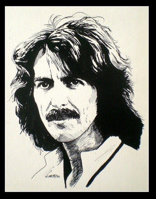 Happy Birthday sweet sweet lord. George Harrison- his gift to the world is 74 years old today.