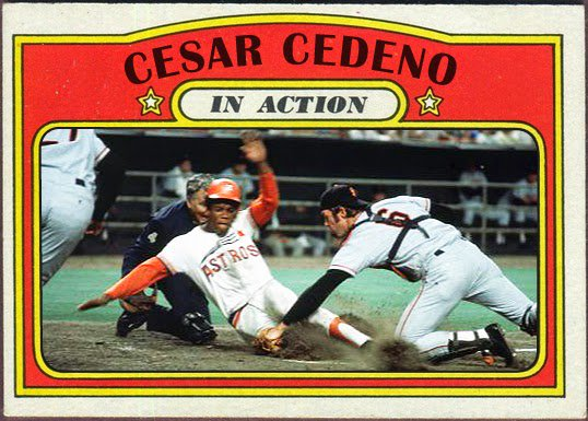 Happy 66th Birthday to one of my favorite underrated stars of the 70\s, Cesar Cedeno!!!