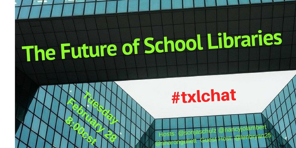 Excited that many of you will be joining us on Tuesday for #txlchat https://t.co/1yx68KxEuR