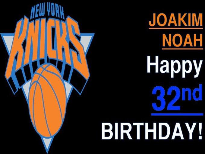 Happy Birthday, Joakim Noah! |