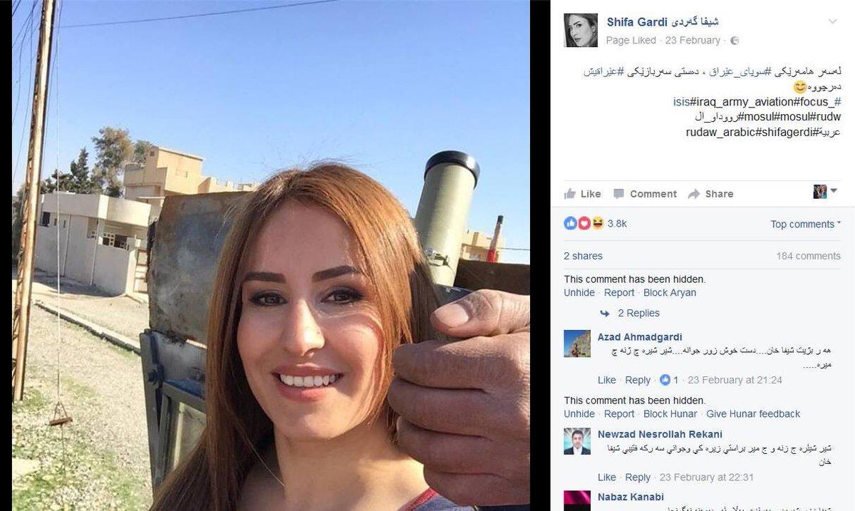 #Rûdaw journalist Shifa Gerdi&#39;s last post on Facebook.. #Kurdistan <br>http://pic.twitter.com/UGBJFvI9xz