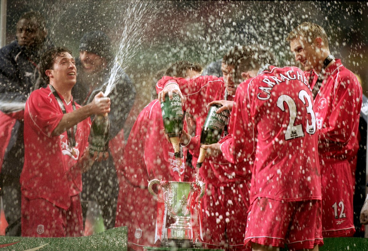 16 years ago today, the first part of our historic treble was sealed!...
