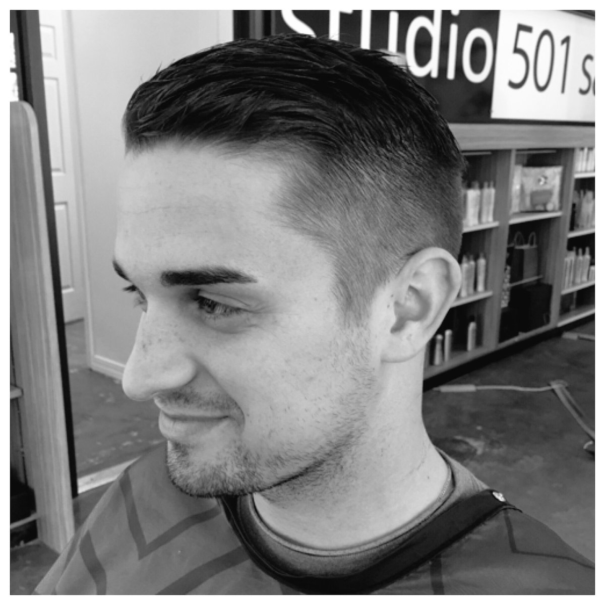 Studio 501 Salon On Twitter Classic Mens Haircut Complete With A