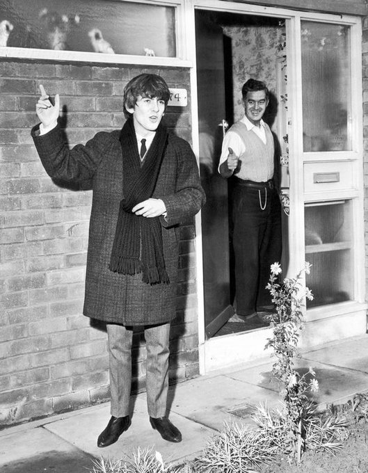 Wishing a happy birthday to one of our city\s most famous sons, George Harrison