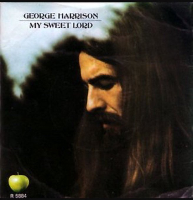 """Song of the day..\""""My Sweet Lord\"""" by George Harrison. (Happy Birthday George)"""