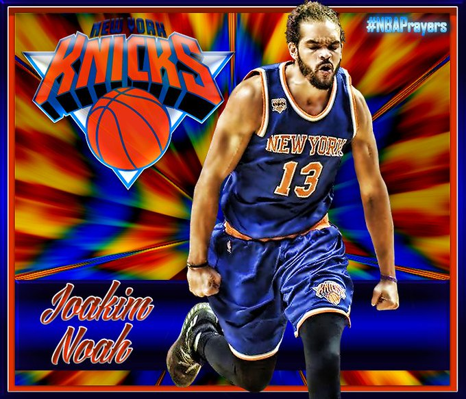 Pray for Joakim Noah ( Hope you\re enjoying a blessed and happy birthday