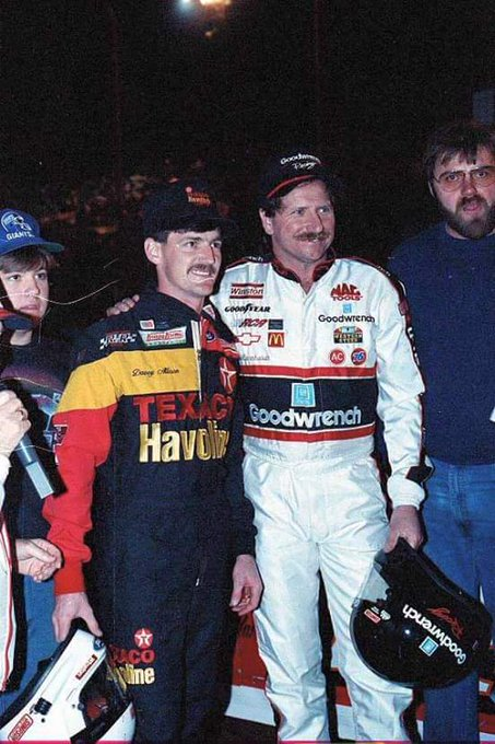 Happy 56th Birthday in Heaven Davey Allison :( We love you and miss you. Two of the best in this pic