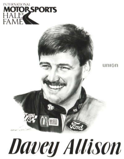 He is, was, and always will be my favorite NASCAR driver. Happy birthday in heaven and race on Davey Allison!