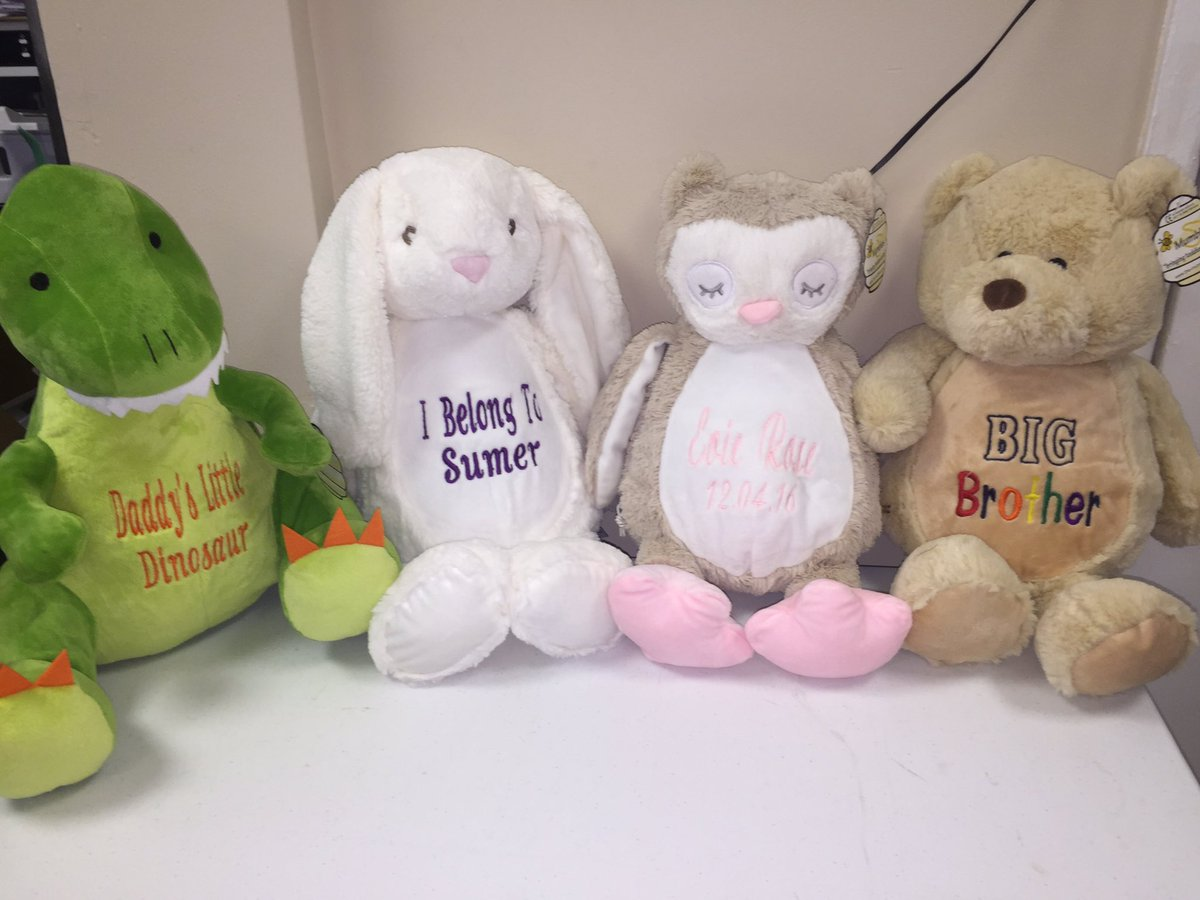 fj s print shop on twitter new product personalised teddy bears