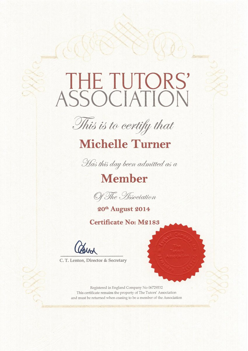 The Tutors Assoc On Twitter Professional Tutor In The Uk Join