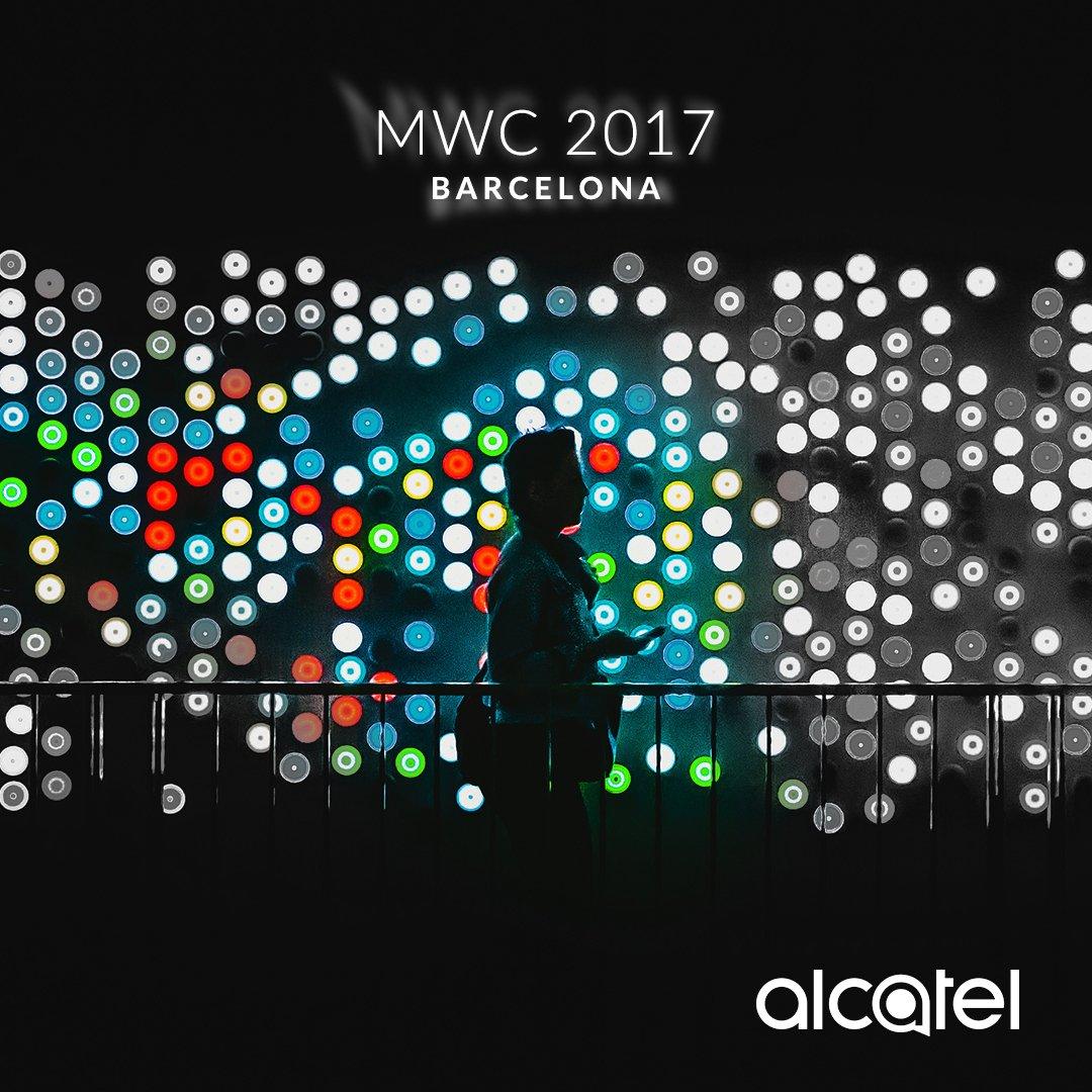 Luces de colores nos rodean todo el día. Las hacemos funcionar para ti. Sigan al pendiente para conocer cómo. #MWC2017 #Alcatelenjoynow https://t.co/GEpMzkJokG