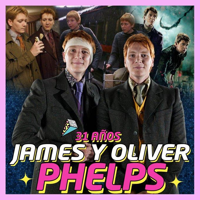 HAPPY 31th BIRTHDAY! James & Oliver Phelps
