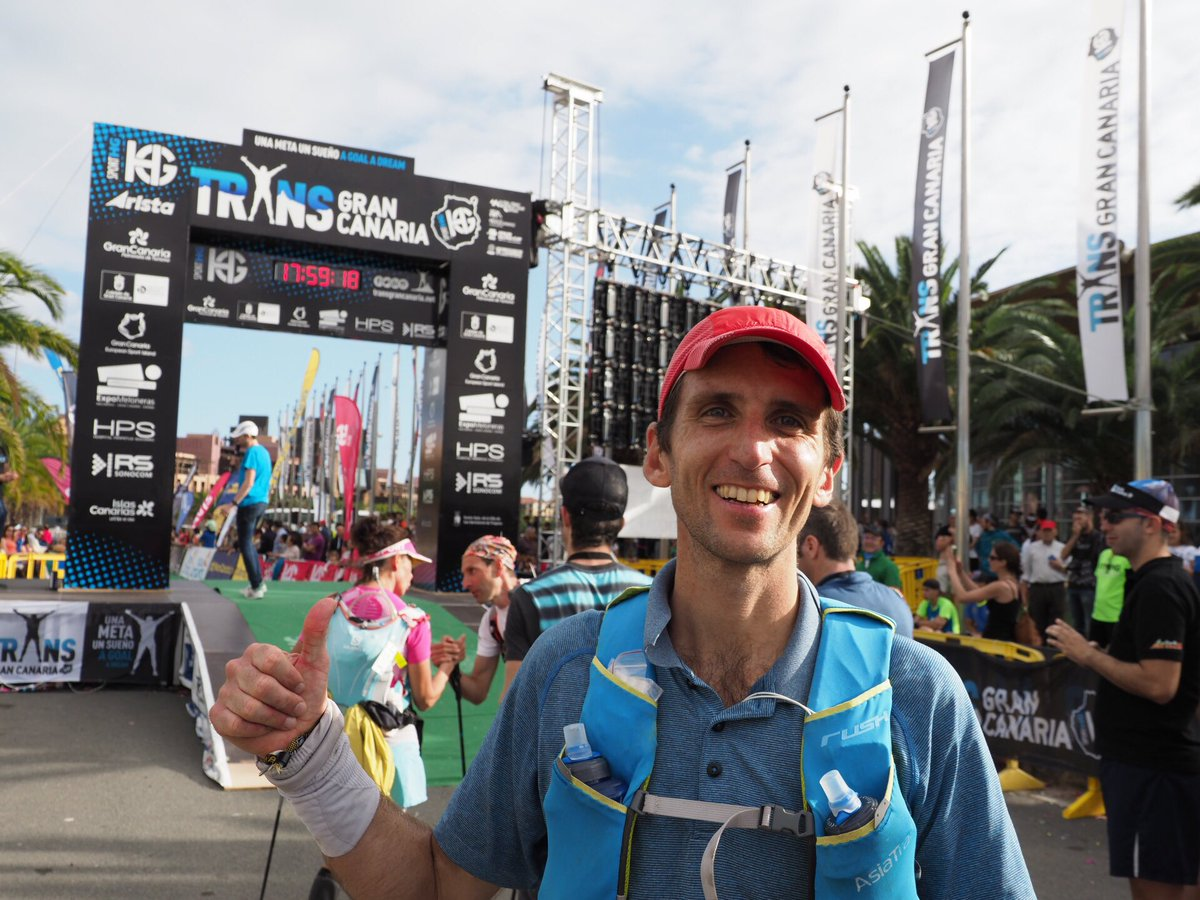 Friends in HK, Clement Dumont of Asia Trail Magazine finished strong in 17:55! #TransGC