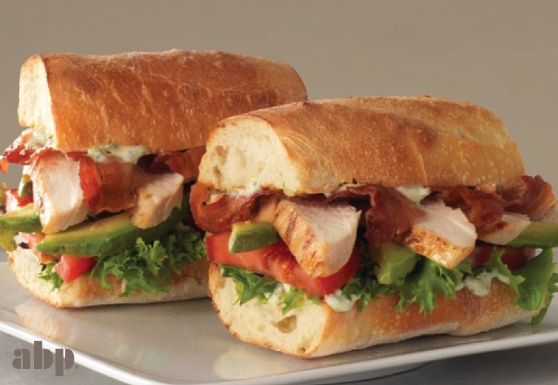 This sandwich really stacks up. RT this Warm Chicken & Avocado sandwich for a chance to win a $25 gift card to #ABP! https://t.co/MZtLsnY7hV