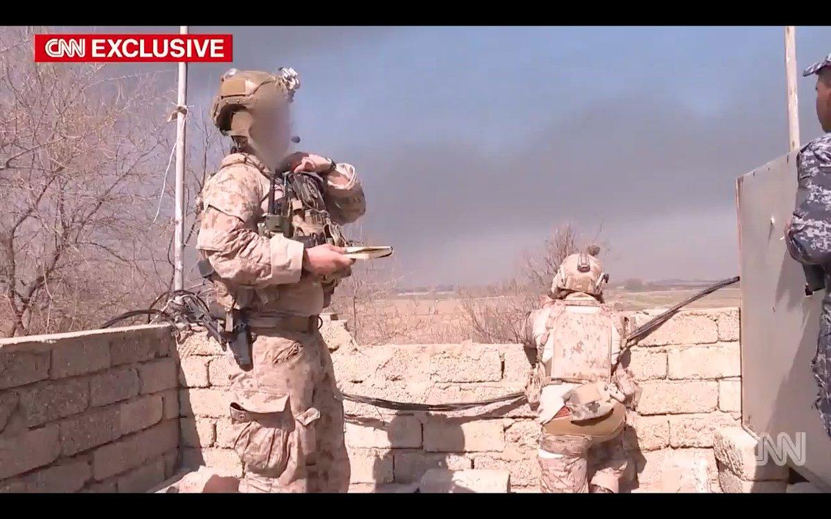 Американский спецназ в Мосуле