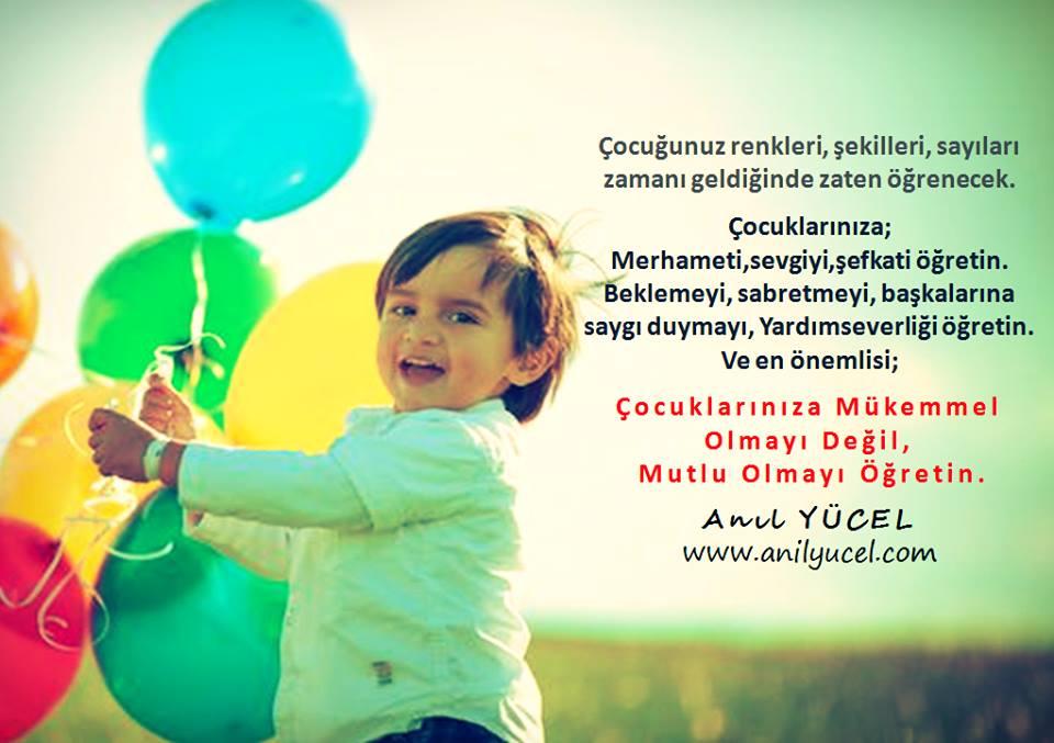 Çocuklara Mutlu Olmayı Öğretin