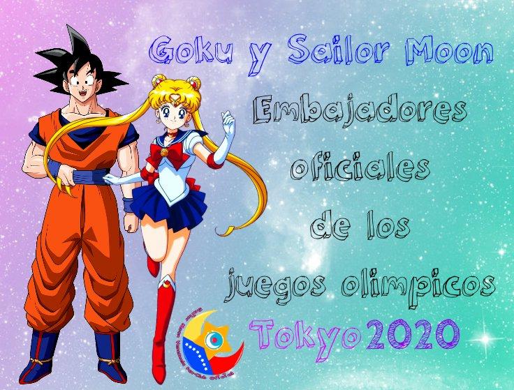 Sailormoon Venezuela On Twitter Y Es Oficial Sailor Moon Y Goku