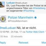 Gut, dass die Polizei derartige Lügengeschichten sofort richtigstellt...