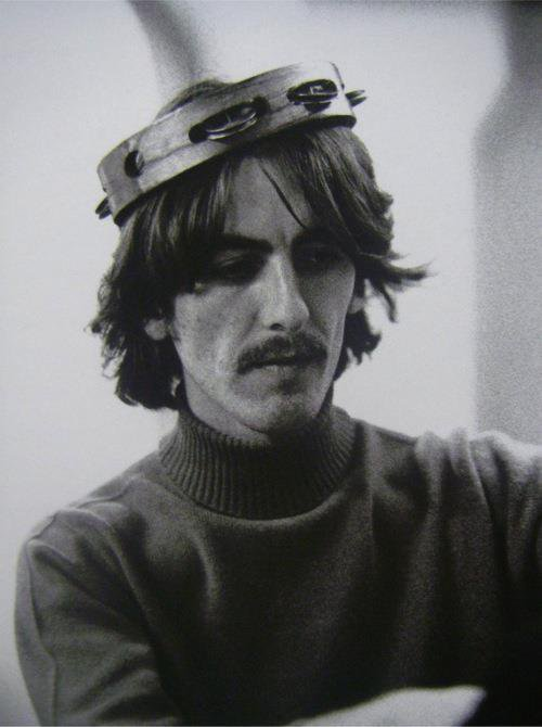 Something in the way he stills moves us. Happy Birthday, George Harrison.