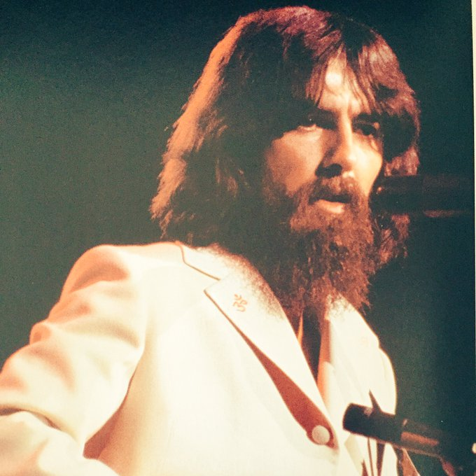 Happy Birthday to the genius of George Harrison, we still miss you...