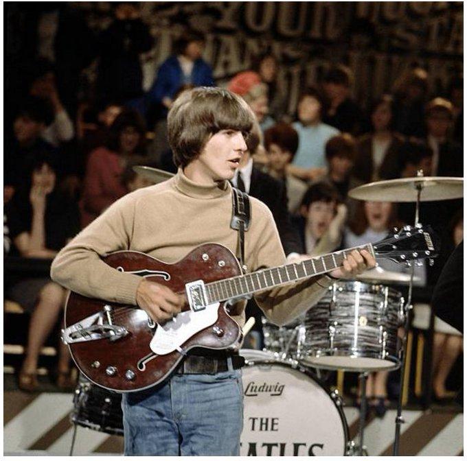 Happy birthday George Harrison Photo by David Redfern
