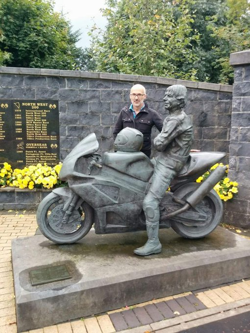 Happy 65th birthday to my hero, yer maun and forever King of the Roads, Joey Dunlop. Gone but never forgotten.