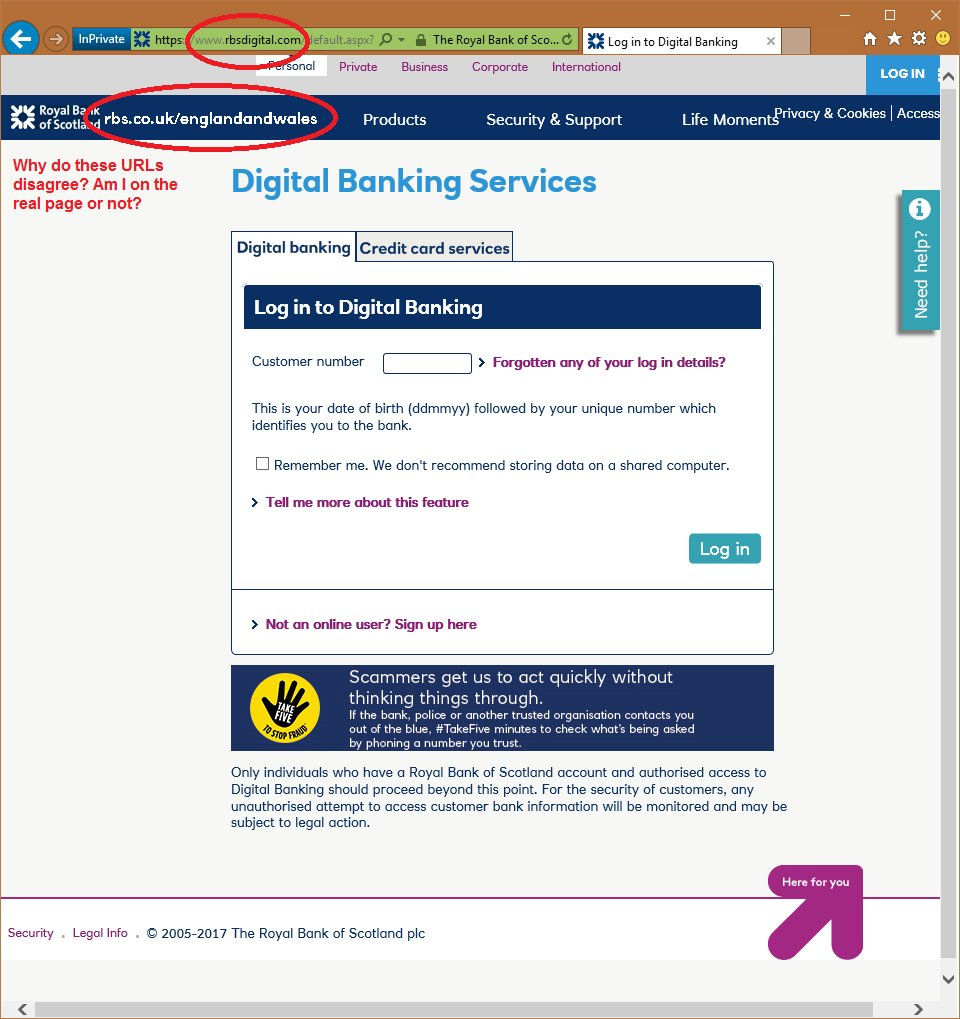 @RBS_Help Why isn\'t online banking hosted on   like it claims to be?