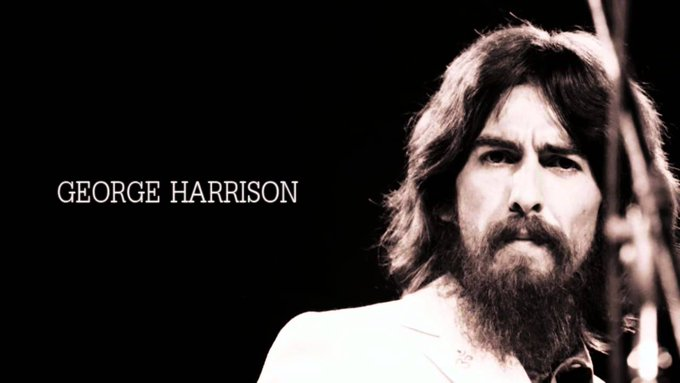 Happy Birthday to the late, great George Harrison.  ~