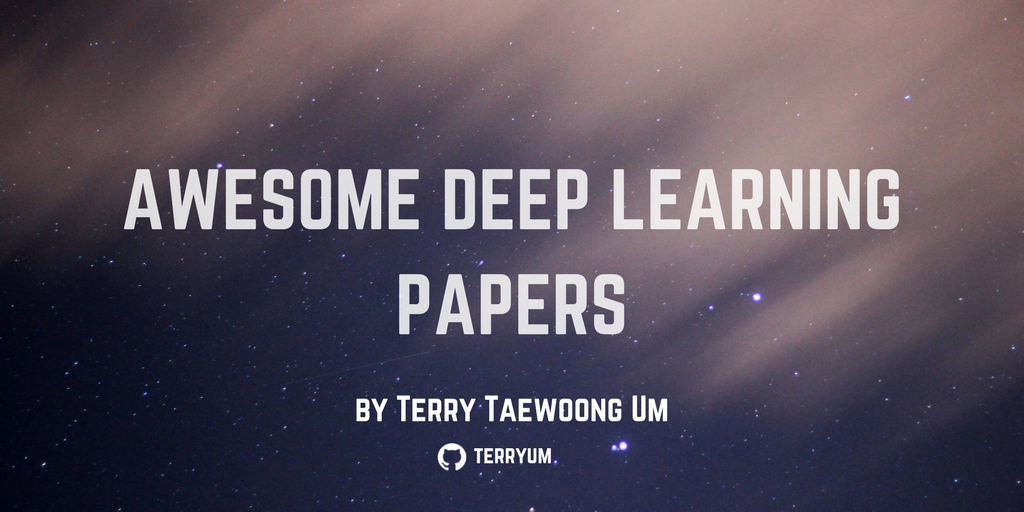 We couldn't bookmark this list of awesome deep learning papers any faster. https://t.co/Dc8zU8fcvv https://t.co/7mfs6L5B0X