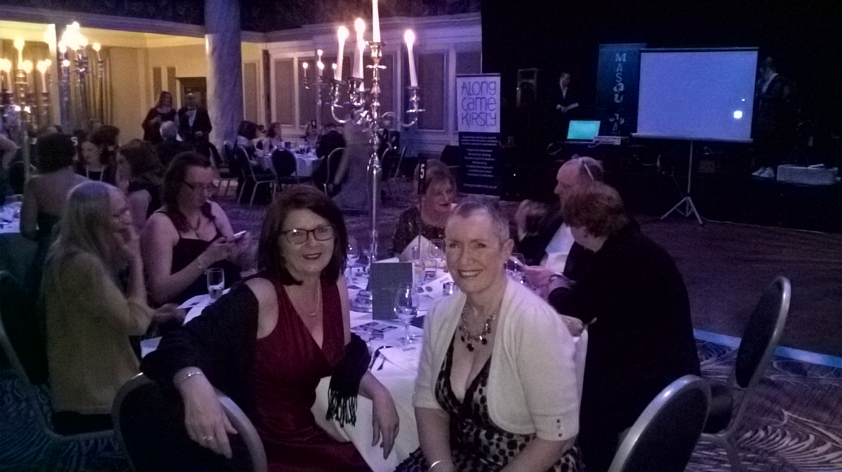 At Grand Central hotel #Pamis awards @SenseScotland @TouchBaseCentre      shortlisted for Most Accessible Building Award<br>http://pic.twitter.com/UlcycgbHzA