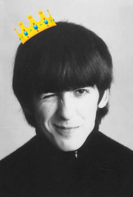 Happy Birthday to the cutest Beatle in the day, George Harrison
