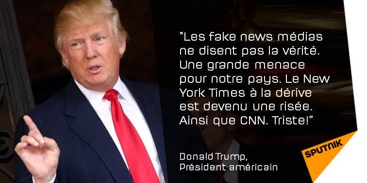 #Trump qualifie #CNN et le #NewYorkTimes de «risée»  http:// sptnkne.ws/dDd7  &nbsp;  <br>http://pic.twitter.com/6IClIo7OqJ