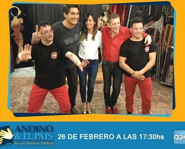 Mañ #Domingo 17.30hs en #A24  estaremos el el Programa de Andino y El Pais. No te lo pierdas! #magia #magos #discapacidad #inclusion #andino<br>http://pic.twitter.com/ledI7bAW2j