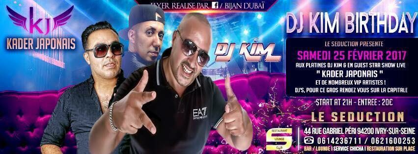 Ce soir @GOLDFINGERSDJ au seduction (94) pour le birthday du frero KIM #dj #deejay #club #birthday #lounge #hookah #music #event #party #us <br>http://pic.twitter.com/yl0jNWCmEP