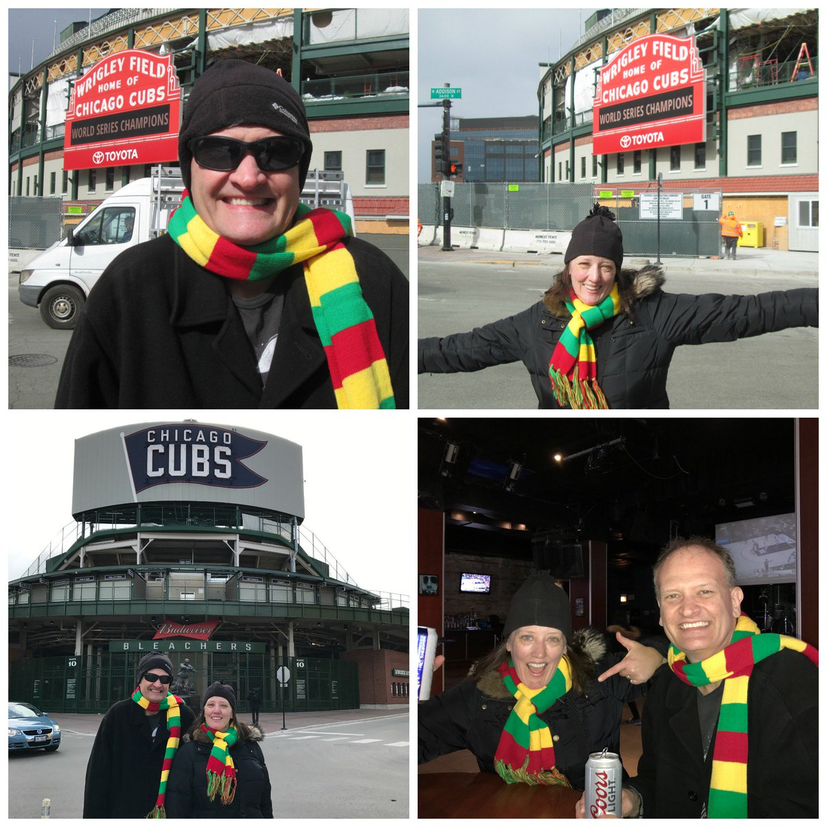 Vastelaovend 2017 at #WrigleyField & the @cubbybear in #Chicago! H...