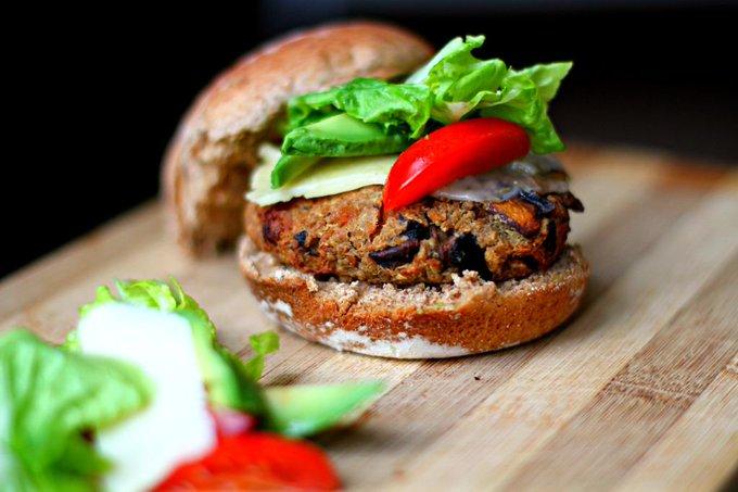 Mushroom Vegan Burger Recipe