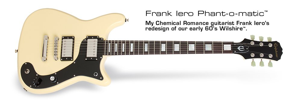 The Epiphone Frank Iero Phant-o-matic #SignatureModelSaturday https://t.co/JS6U6GLvs3 https://t.co/vMX4v0m97w