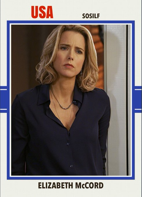 Happy 51st birthday to Tea Leoni. I say her character couldn\t be patterned on Hillary b/c she\s hit.