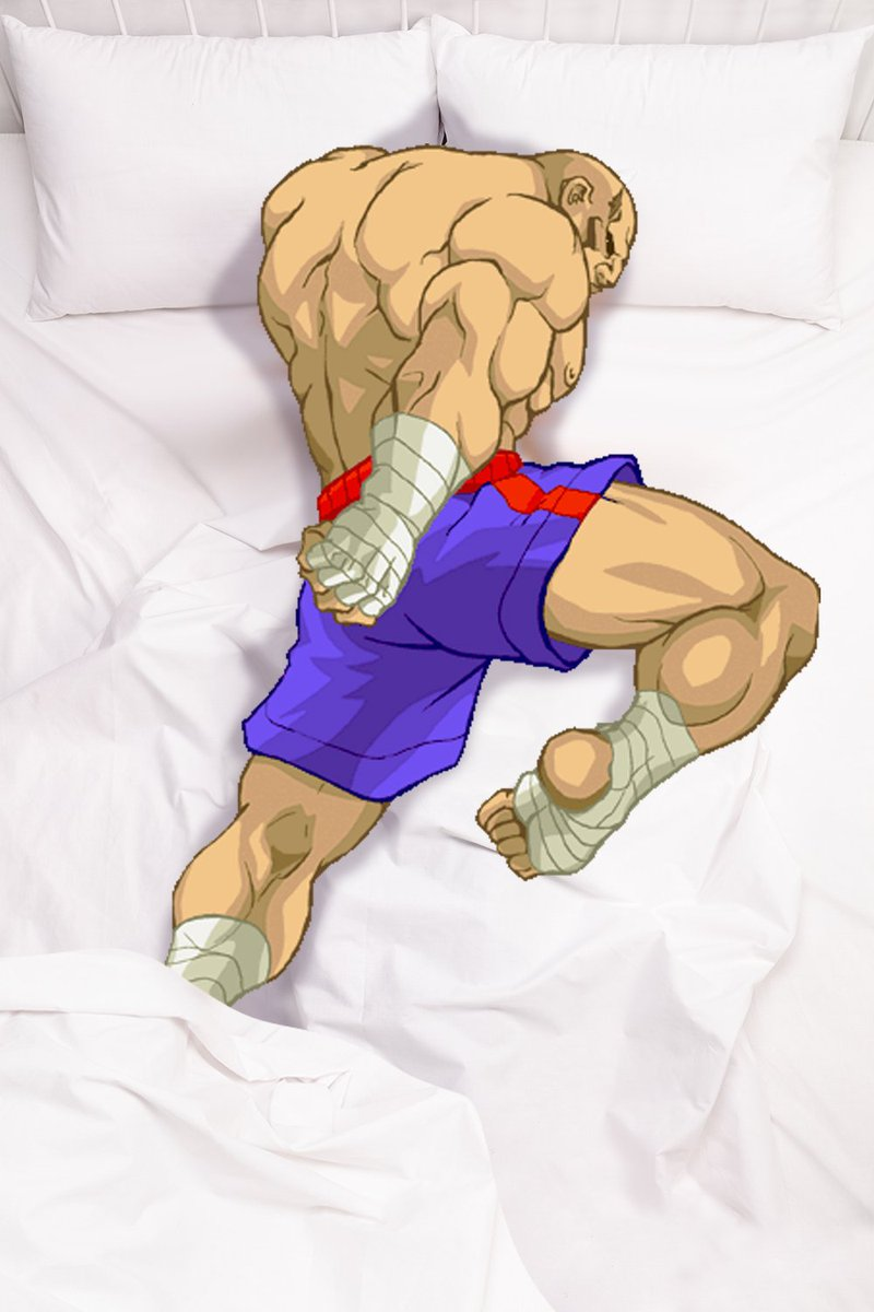Can we all agree the Tiger Knee position is the best way to sleep XD https://t.co/cEAvGbCNCG