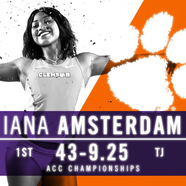 #Clemson's women take second and the men finish fourth at the 2017 Indoor ACC Championships! 📝https://t.co/vqKh3mITMI https://t.co/Sl12vX79dB