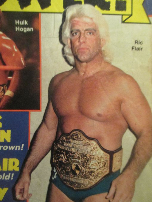 Happy 68th birthday to my favorite wrestler--Ric Flair. Keep stylin & proflin\