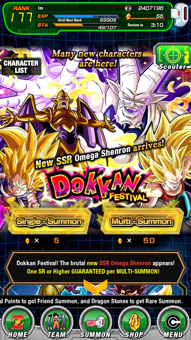 Did the #DokkanBattleSummon and this is what I got. pic.twitter.com/BvqLDYfuDe