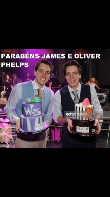 Happy birthday Oliver e James Phelps